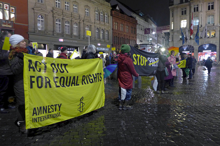 Der Amnesty International Report 2016/17 ist erschienen